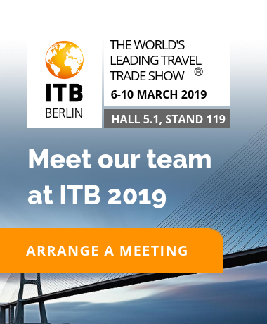 ITB Berlin - 6-10 March 2019 - Hall 5.1, Stand 119 - Meet our team at ITB!