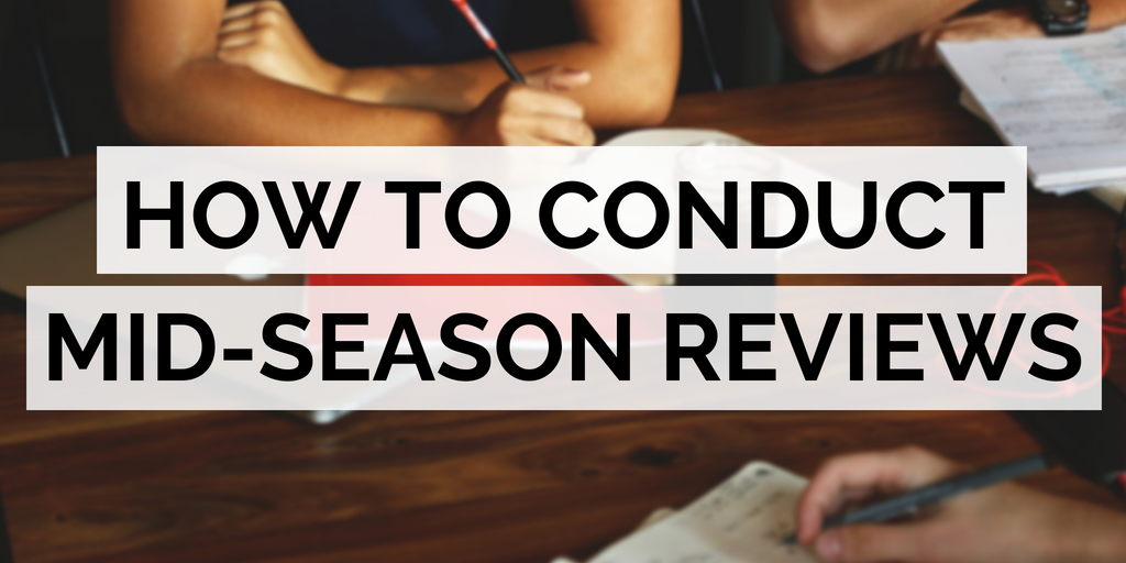 How to conduct mid-season reviews with your guides