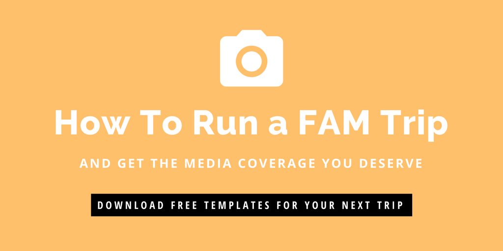 How to run a FAM trip and get the media coverage you deserve