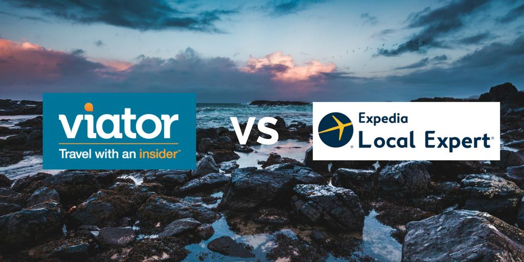 Wir vergleichen zwei Giganten: Viator vs. Expedia Local Expert