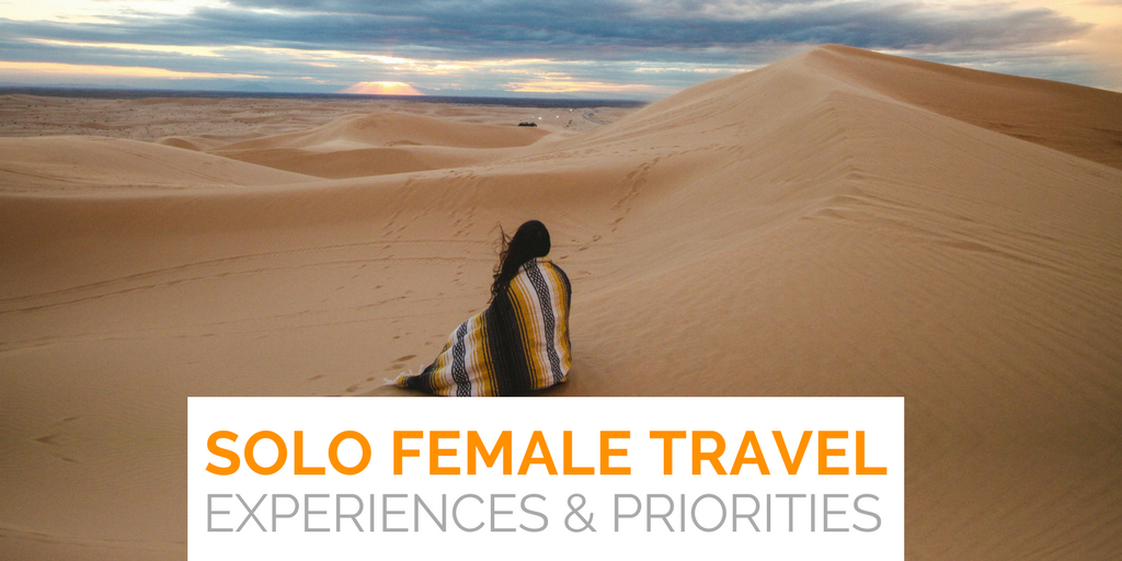 The solo female travel trend: the experiences and priorities they're chasing