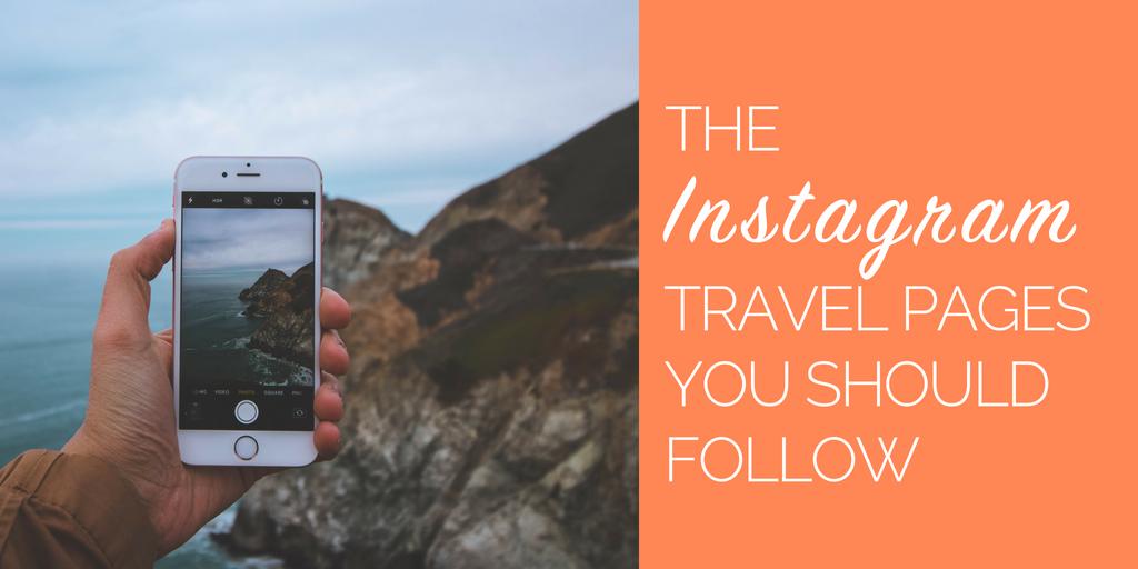 Instagram travel pages that tour & activity operators should follow