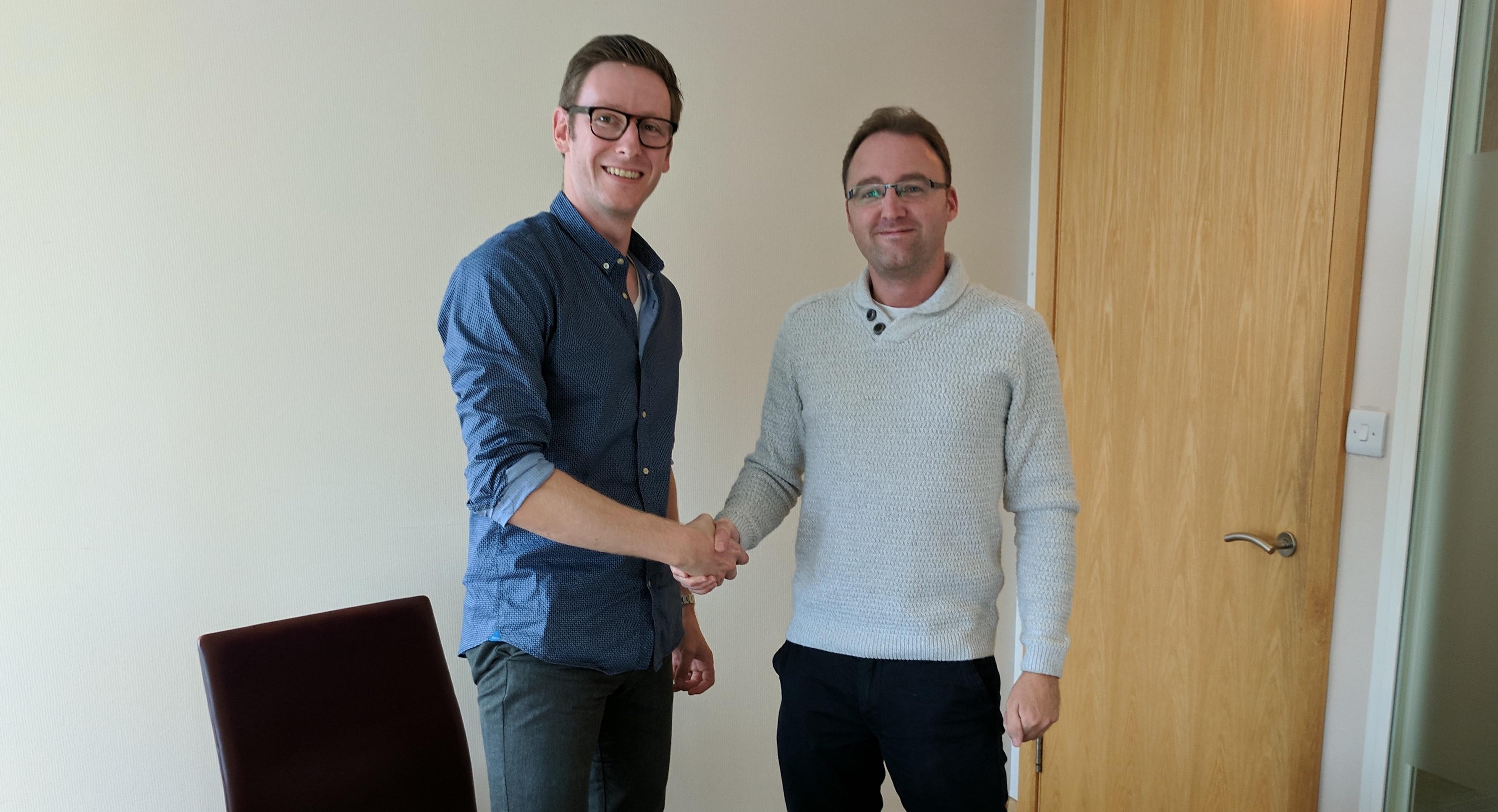 Valentin and Richard - TrekkSoft Group