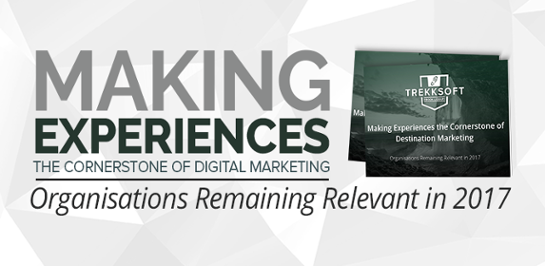 Making experiences the cornerstone of destination marketing