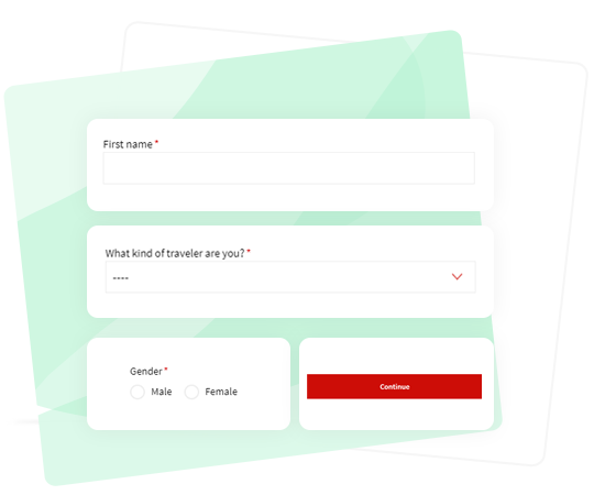 Personalize forms
