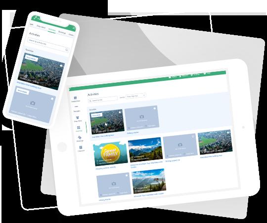 TrekkSoft Pos Desk Dashboard